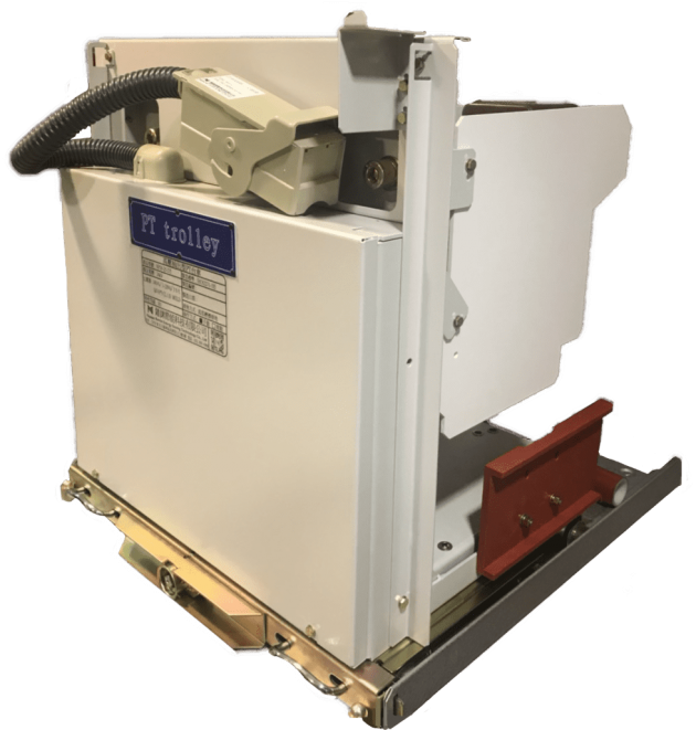 高壓抽出型PT台車(Draw-out Type Voltage Transformer Trolley) 1